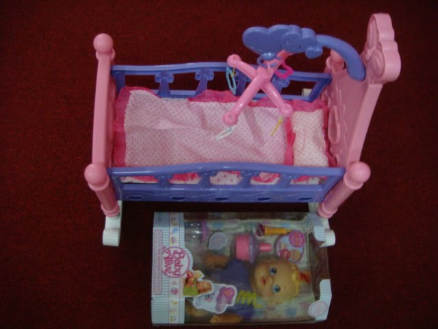 Toys4toddlers New Baby Alive Amp New Musical Doll Sway Bed