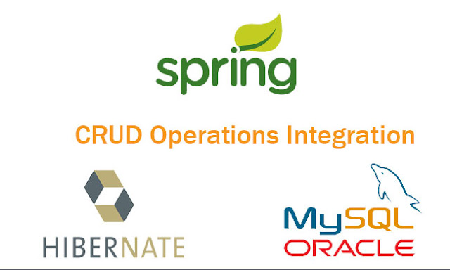 Spring 4 MVC, Hibernate, MySQL Database, Maven CRUD Operations Integration using Annotation Tutorial