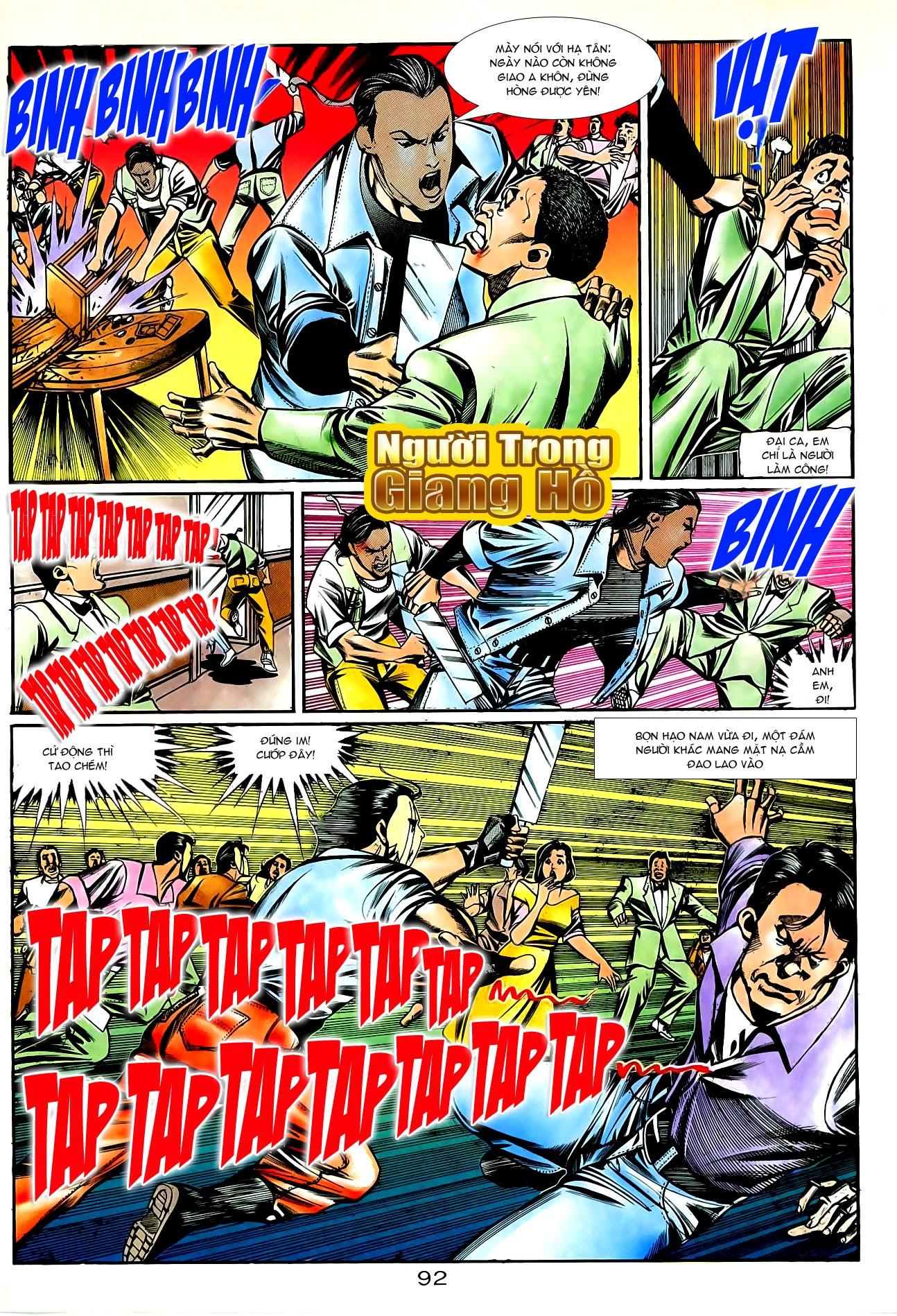 Người Trong Giang Hồ chapter 87: chống lưng của a khôn trang 6