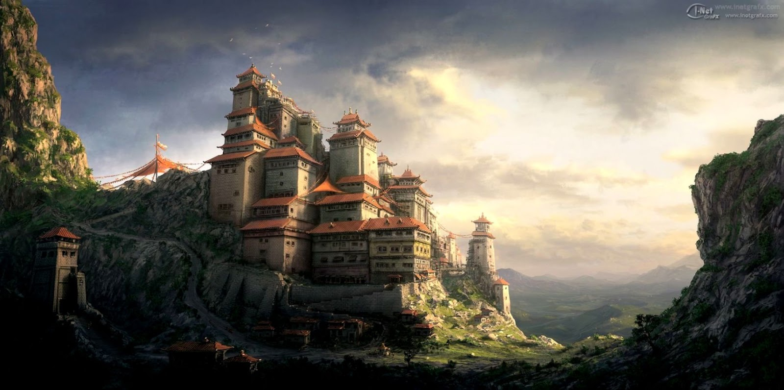 Fantasy Castle Wallpaper Hd Wallpapers Simple