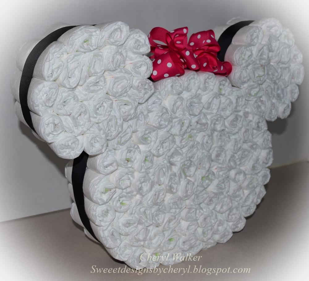 Really reasonable ribbon blog minnie mouse diaper cake minnie mouse diaper cake baditri Gallery