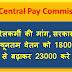 सातवां वेतन आयोग: रेलकर्मी की मांग न्यूनतम वेतन को 18000 से बढ़ाकर 23000 करे