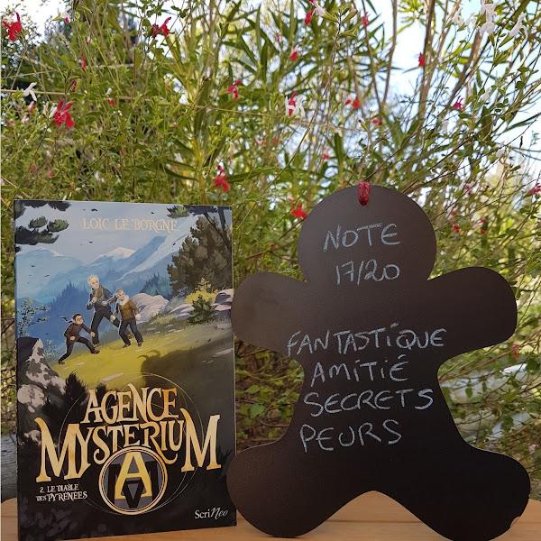 Agence Mysterium, tome 2 : Le diable des Pyrénées de Loïc Le Borgne