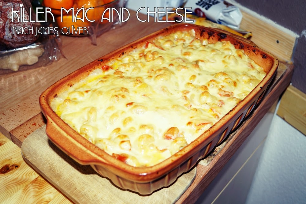 Killer Mac and Cheese nach James Oliver