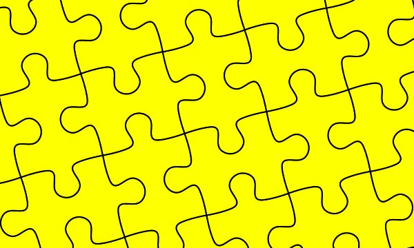 DesignEasy How To Create Puzzle Pieces Template In Adobe Illustrator
