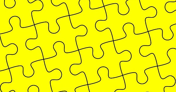 DesignEasy: How to Create Puzzle Pieces Template in Adobe