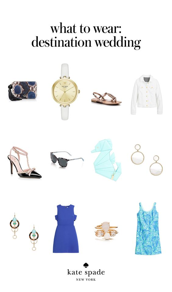 kate spade pieces for a summer wedding