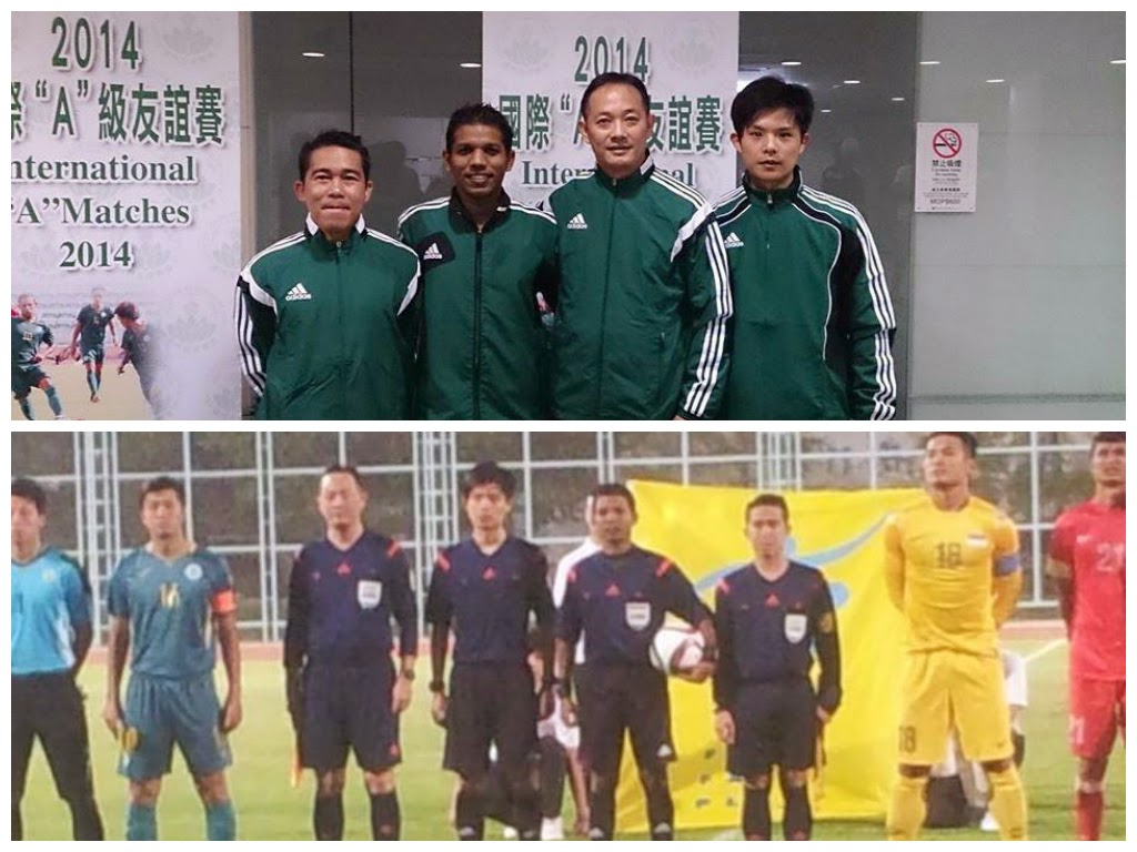 Friendly Macau Vs Singapore