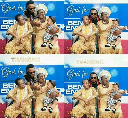 flavour nabania and his parents