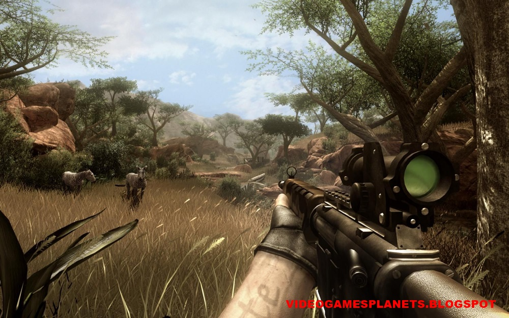 Download Far Cry 2 in 6 parts (400 MB each) Highly compressed