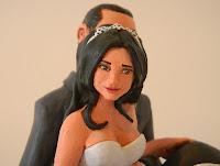 cake tops statuine torta nuziale volti personalizzati viso personalizzato orme magiche
