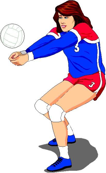 Gambar Passing Bawah Bola Voli : gambar, passing, bawah, Sikap, Passing, Bawah, Nuraini