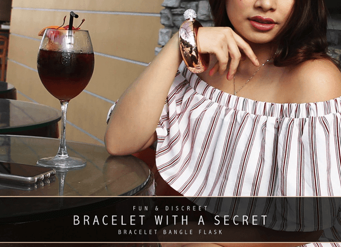 36 Genius Yet Inexpensive Products That Can Save Lives - Bracelet Flask