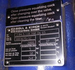 boll and kirch type 2.4.5 Duplex filter auto clean filter boll and kirch type 2.04.5 we sale boll filter products email-idealdieselsn@hotmail.com
