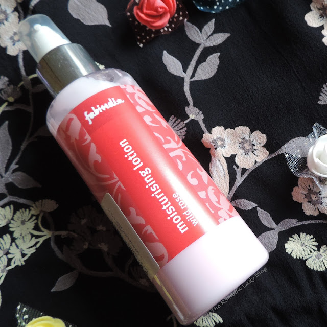 Fab India wild rose moisturising body lotion review