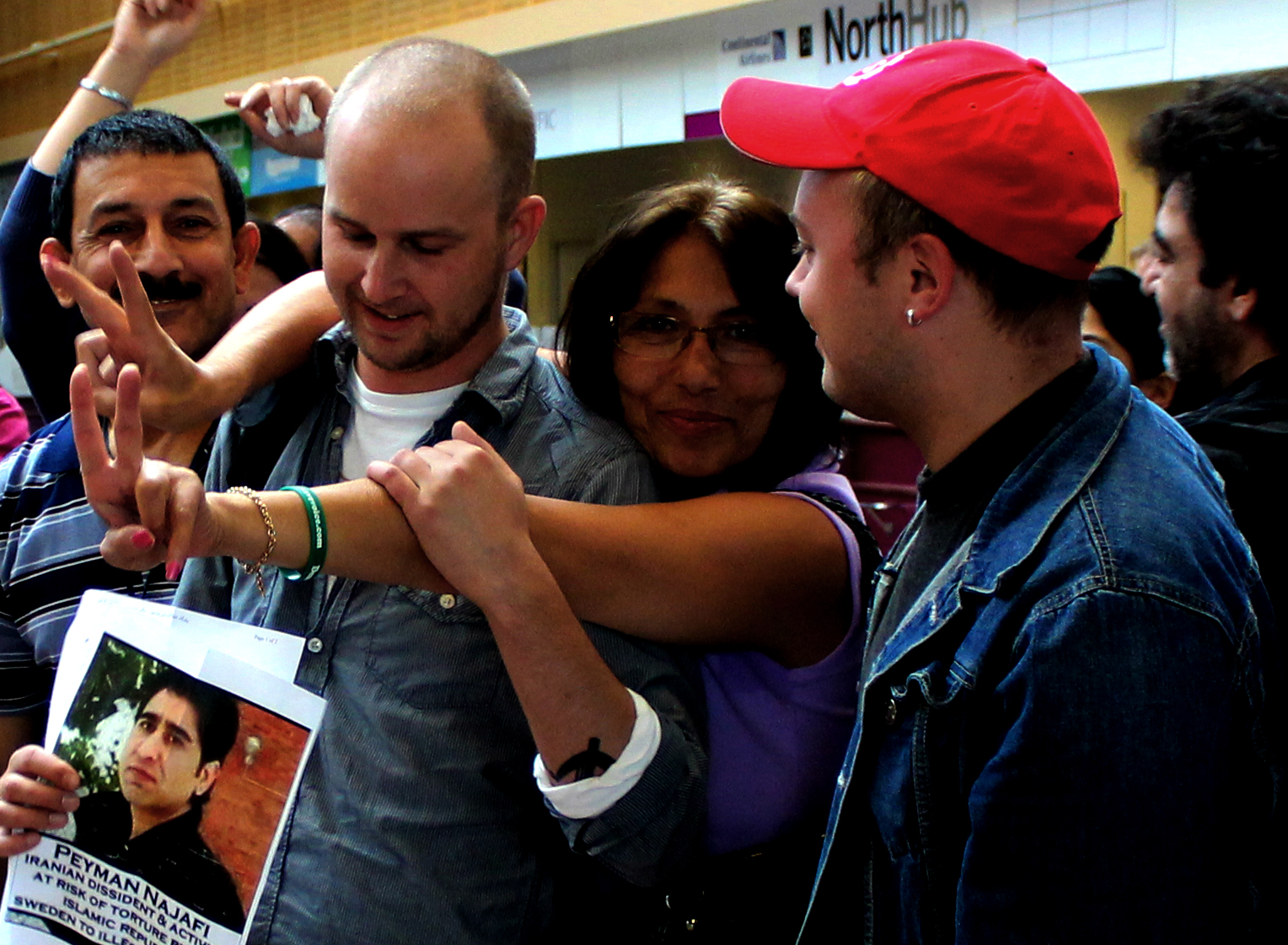 Judiska aktivister stoppades
