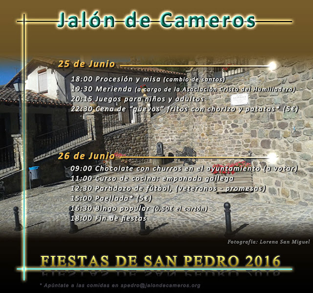 - 25 y 26 de Junio - - Jalón de Cameros - - Fiestas de San Pedro -