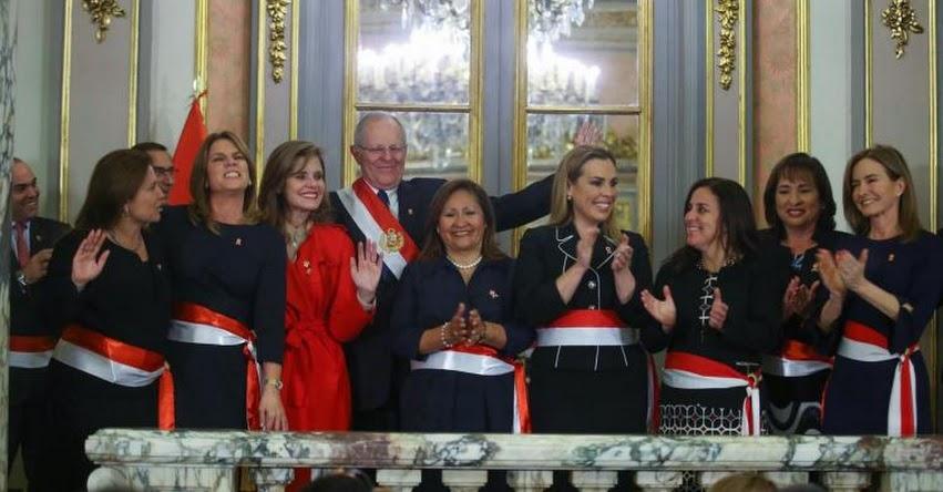 Centro de la Mujer Peruana Flora Tristán destaca presencia de 7 mujeres ministras de estado