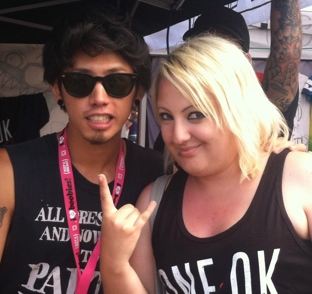 Live Report: One Ok Rock @ Warped Tour; July 3, 2014