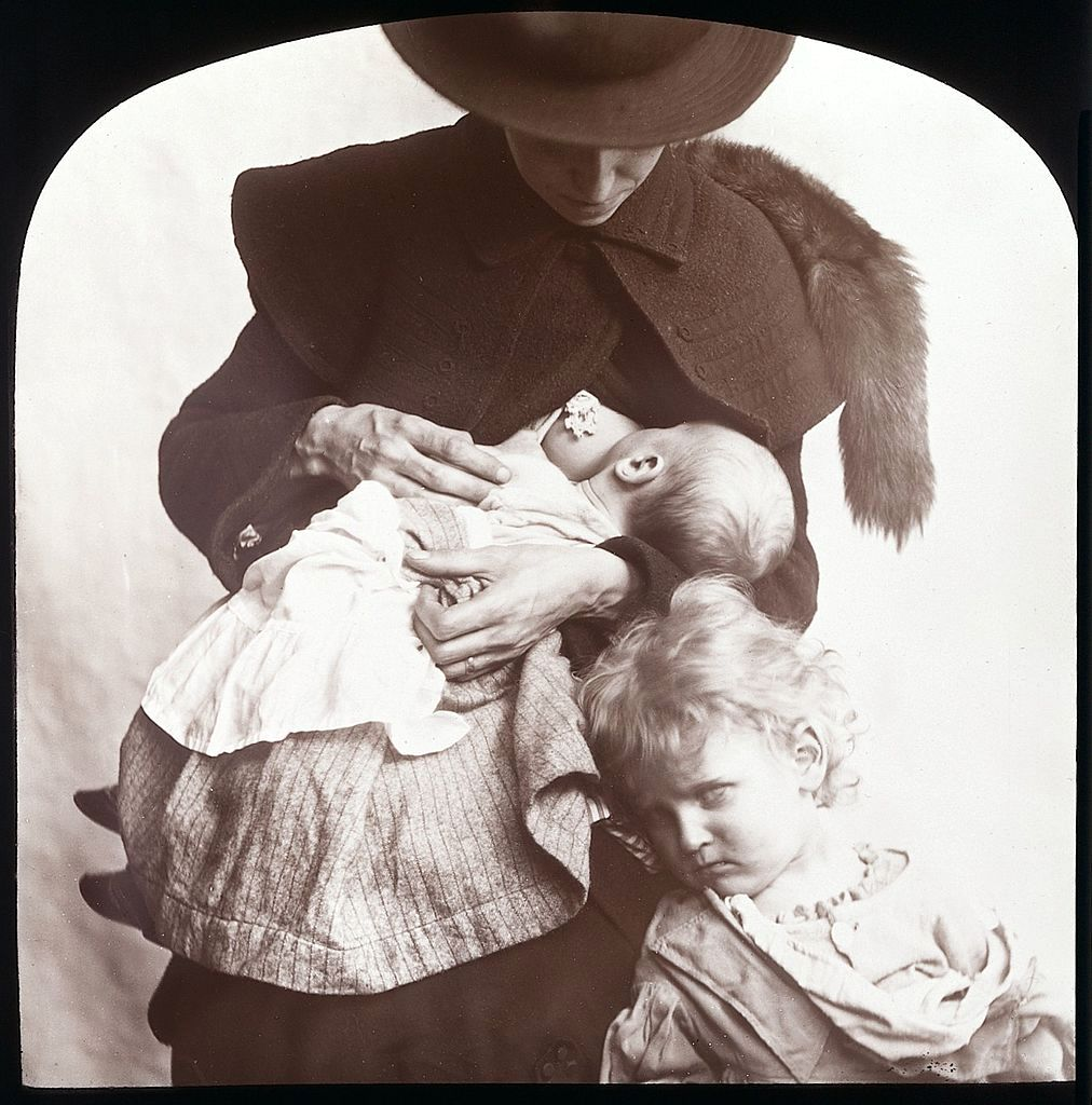 Victorian Breastfeeding: Lovely Photos of Moms Nursing Babies From Between  the 1840s and 1890s ~ vintage everyday