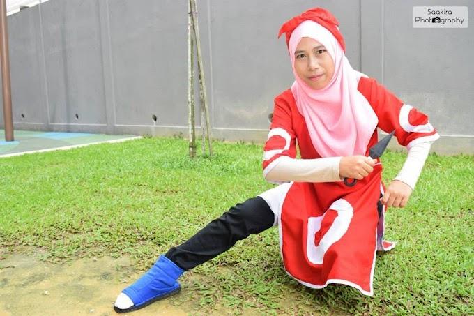 Hijab Cosplay Sakura Haruno