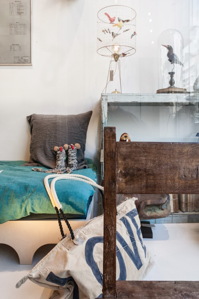 A teen bed from Rafa-kids at  Couleur Locale conceptstore  in Knokke