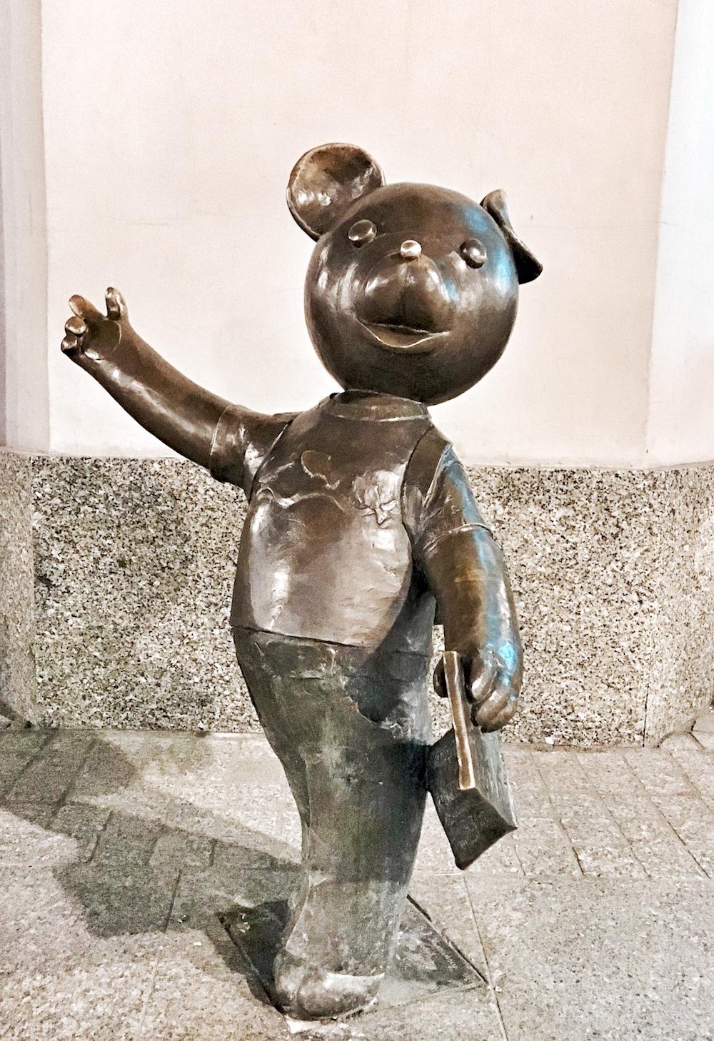 Łódź | Piotrkowska co zobaczyć Miś Uszatek