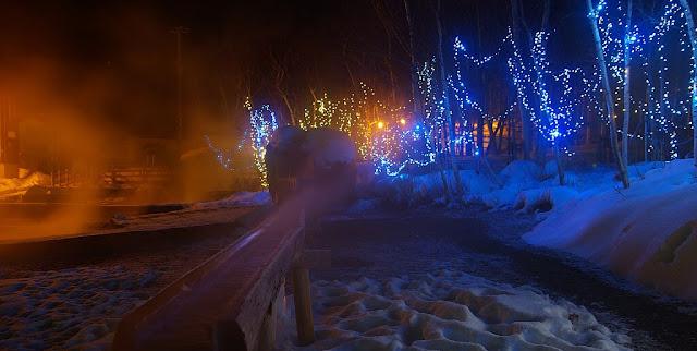 Diamond Dust in Kawayu Hot Springs, Hokkaido