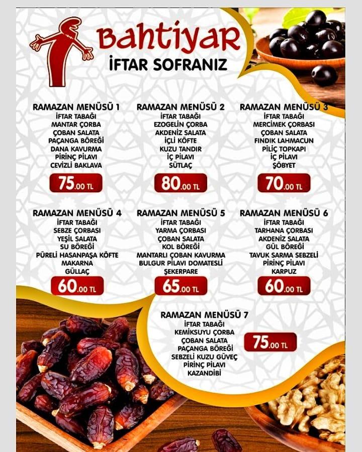 bahtiyar et balık kahvaltı incek ankara iftar menüsü