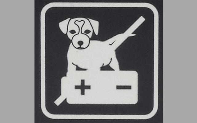 ما السر وراء وضع علامة ممنوع للكلاب على بطارية سامسونج إس 8 على الرغم من أنه غير قابل للفتح