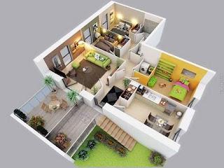harga jasa desain rumah per meter, interior rumah sederhana, desain interior rumah sederhana, jasa interior rumah minimalis