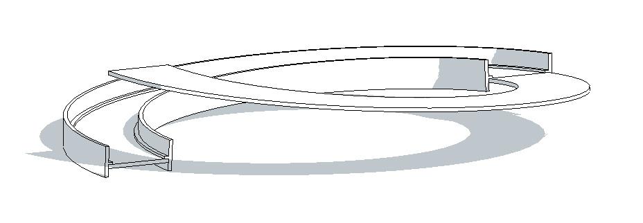 Revit-Mémo: REVIT 2013_Rampe hélicoïdale à partir d'une dalle