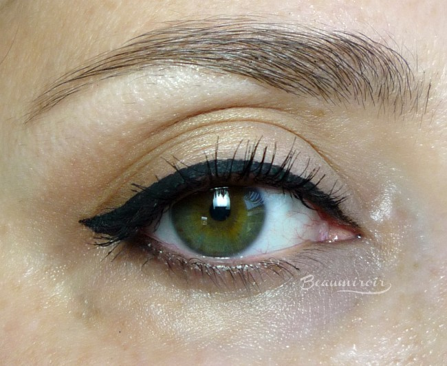 Lancome new bendable Grandiose Liner: eye look