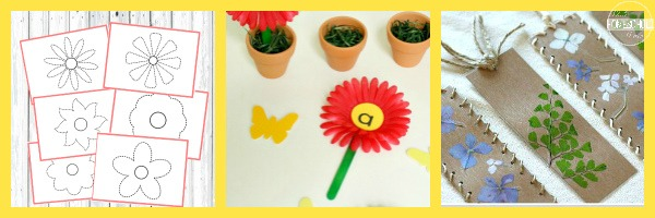 Flower Language Arts Activities
