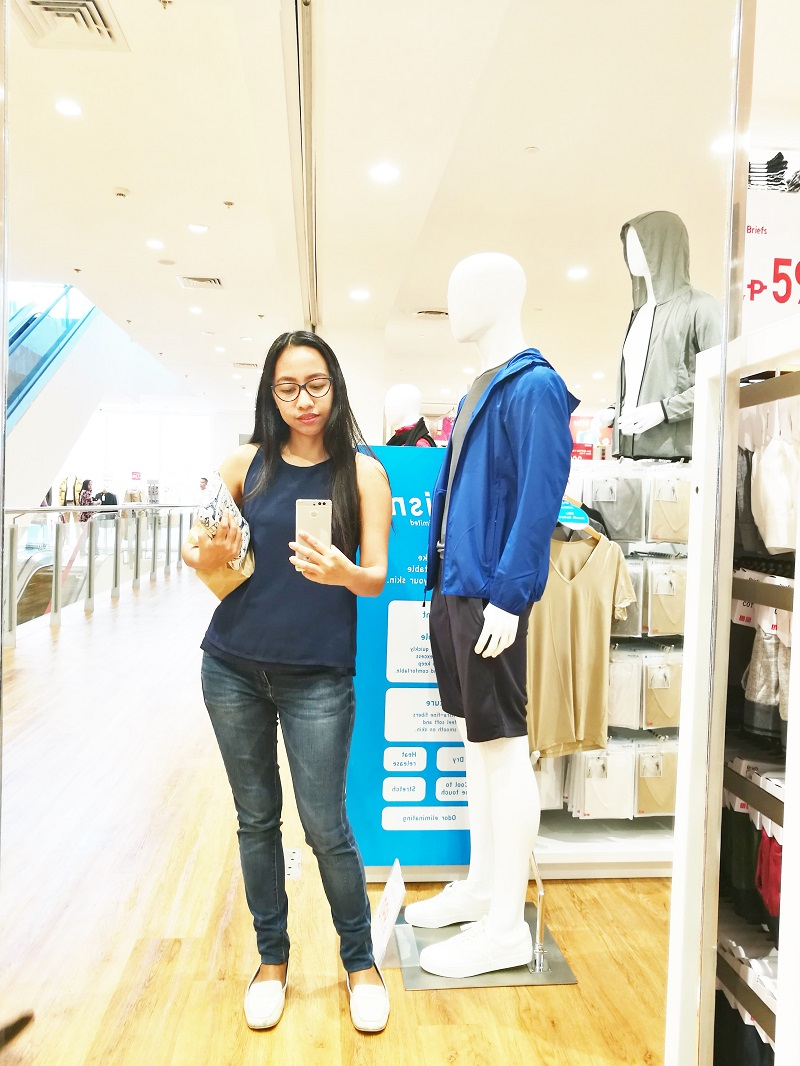Blair Villanueva at UNIQLO Philippines C3 Annex Bonifacio Global City