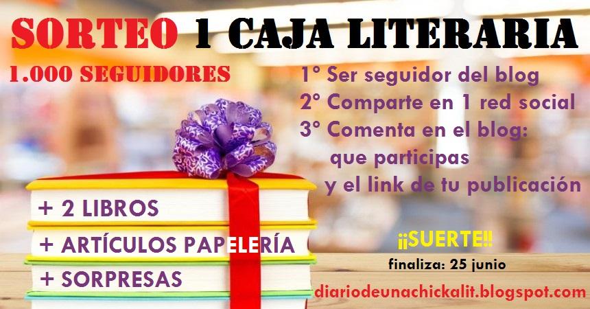¡¡SORTEO UNA CAJA LITERARIA 1.000 SEGUIDORES!!