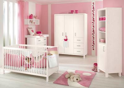Ideas Para Pintar Y Decorar La Habitacion De Una Bebe Dormitorios - Decoracin-dormitorio-bebe