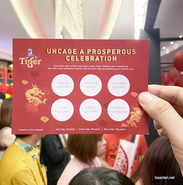 Uncage a prosperous celebration