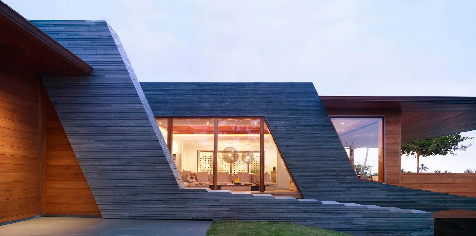 Hawaii modern house kona residence kona hawaii belzberg architects