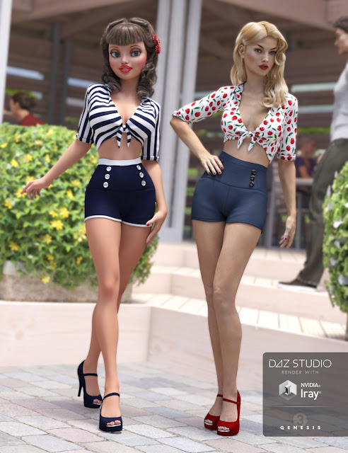 Esther Outfit Textures