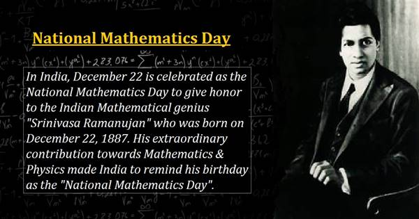 National Mathematics Day: Hidden Truths Behind The Man Who Knows Infinity