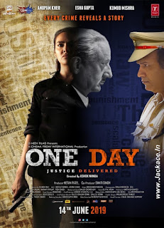 One Day: Justice Delivered First Look Poster 2