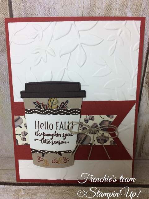 Merry Cafe, Painted Autumn, Stampin'Up!