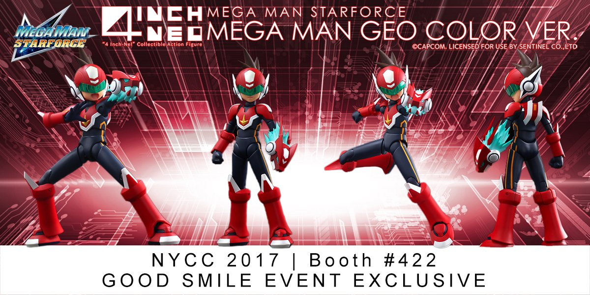 If you plan on attending this year's New York Comic-Con, you might want to  swing by Good Smile Co.'s booth (#422). Word on the street is the red Geo  Stellar ...