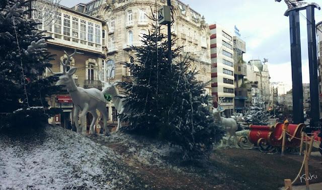 Imagem natalícia, Christmas, Natal, Vigo, Espanha