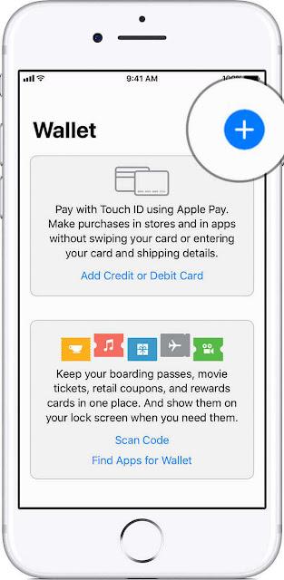 كيفية استخدام Apple Pay للدفع على ايفون X wallet