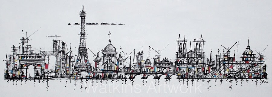03-Love In Paris-Stephen-Watkins-Cityscapes-www-designstack-co