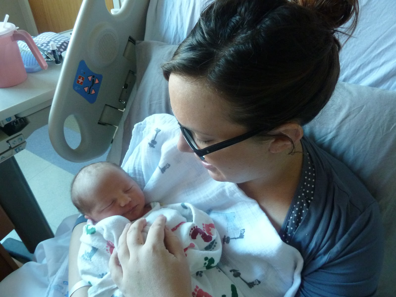 The Adventure Starts Here: Baby Noah: Week 1