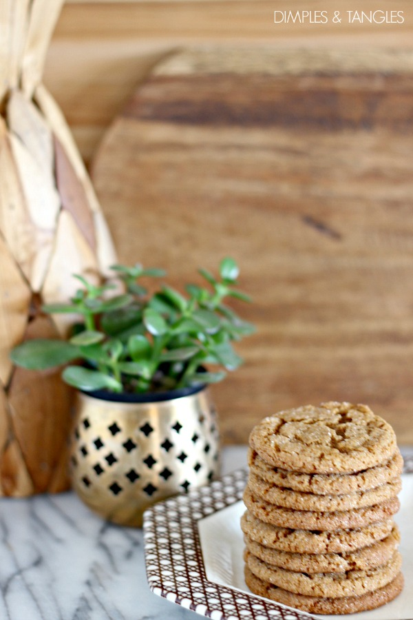 Molasses Ginger cookies, recipe, baking, sweets, spice cookies