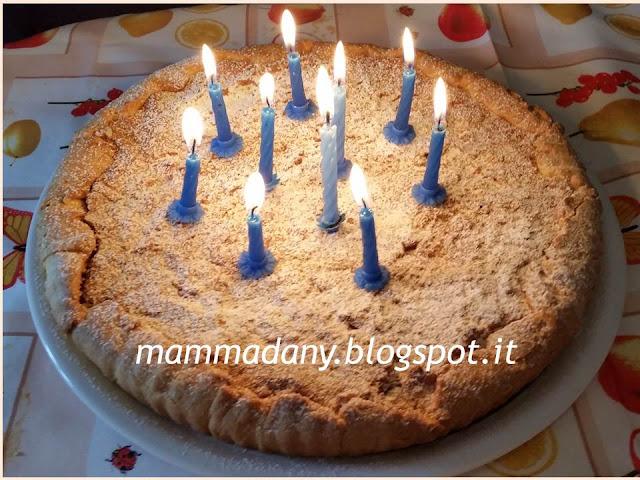 ricetta crostata di compleanno